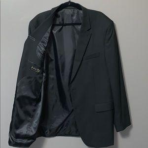 All black Andrew Fezza signature collection blazer